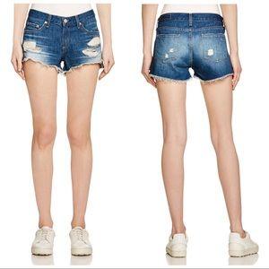 RAG & BONE Cutoff Denim Shorts in Freeport